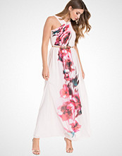 Little Mistress Floral Detailed Maxi Dress
