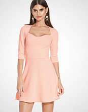 John Zack Square Neck Skater Dress