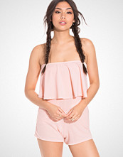 NLY Trend Crepe Frill Playsuit