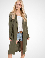Free People Jacket Military Duster
