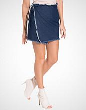 NLY Trend Raw Denim Skirt
