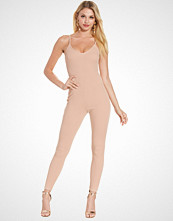 NLY One Beige Cami Crepe Jumpsuit