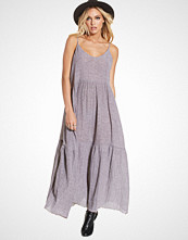 One Teaspoon Maple Linen Maxi Dress
