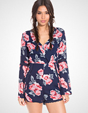 NLY Trend Spring Flower Playsuit