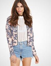 Miss Selfridge Floral Bomber Jacket