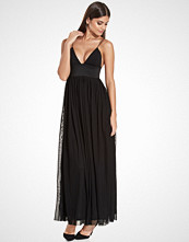 Rare London Elastic Trim Maxi Dress