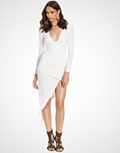Club L Square Plunge Asymetric Dress
