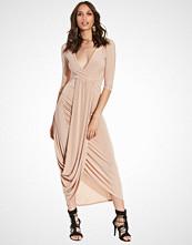 Club L Drape Front Detail Dress