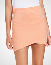 NLY Trend Patched Rib Skirt