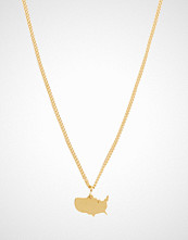 BY.ORTIZ America 18k gold plated
