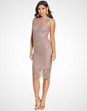 Little Mistress Lace Midi Dress