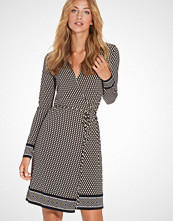 Michael Kors Alston Brder Wrap Dress
