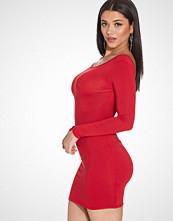Club L Essentials Low Back Jersey Bodycon Dress