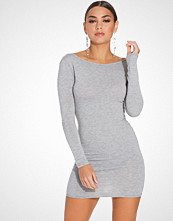 Club L Essentials Low Back Jersey Bodycon Dress