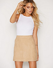 New Look Suedette A-Line Skirt