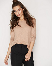 Filippa K Linen Long Sleeve Split Top