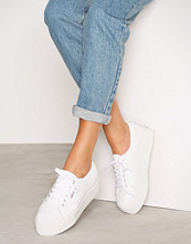 Superga Hvit 2790 FGLU Leather
