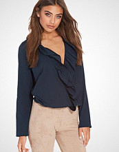NLY Trend Overlap Frill Blouse