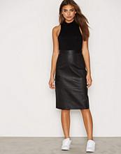Dagmar Agatha Leather Pencil Skirt