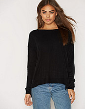 Noisy May NMCHEN L/S BOATNECK KNIT TOP - N