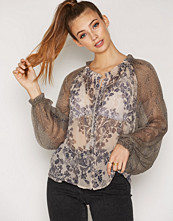 Free People Hendrix Printed Blouse