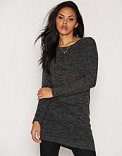 Only onlNEW HAYLEY L/S ZIPPER DRESS KNT