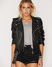 Deadwood Black Biker Jacket