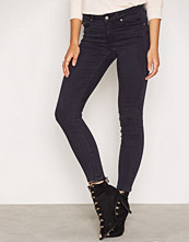 Odd Molly Stretch Blueblack Cropped Jeans