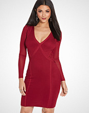 Wow Couture V-neck L/S Bodycon Dress