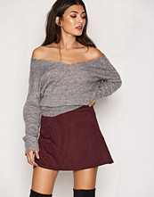 NLY Trend A Lined Suede Like Skirt