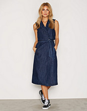 Only onlBECCY LONG DNM TRENCH WAISTCOAT