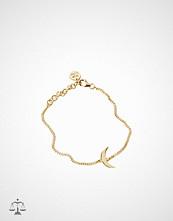 Blue Billie Moon Bracelet Gold