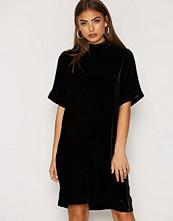 Just Female Ware Velour Dress