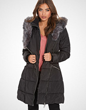 NLY Trend Long Puffa Fur Jacket