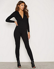 NLY One Plunge Neck Jumpsuit