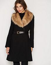 Miss Selfridge Fit And Flare Coat