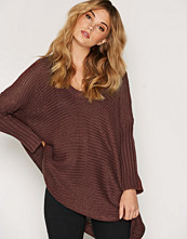 Noisy May NMVERA 3/4 V-NECK KNIT TOP - N