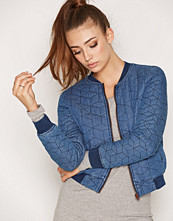 Only onlJOSEPHINE QUILTED DNM BOMBER GUA