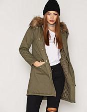 New Look Big Faux Fur Parka