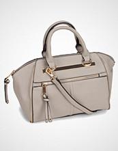 New Look Double Strap Zip Bowler Bag