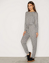 NLY Trend Soft Drawstring Jumpsuit