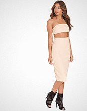 AQ/AQ Blush Quart Midi Dress