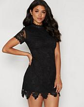 Ax Paris Lace Bodycon Turtle Neck Dress