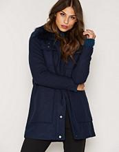 Vero Moda Mørk blå Vmyolanda 3/4 Wool Jacket