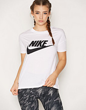 Nike Hvit/Svart Nsw Signal Tee Logo
