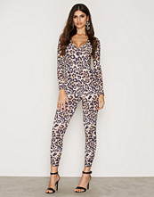 NLY One Leo Print Catsuit