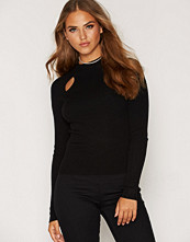 Miss Selfridge Slit Front Knitted Rib Top