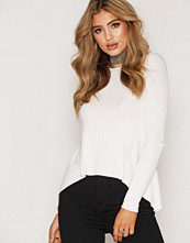 Miss Selfridge Cut About Ribbed Knitted Top