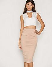 NLY One Rib Midi Skirt