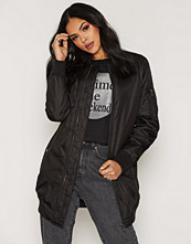 Sisters Point Black Lusa Long Jacket
